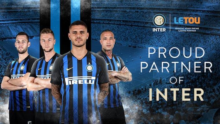 Nhà cái Letou hân hạnh là nhà tài trợ cho đội bóng nổi tiếng Inter Milan